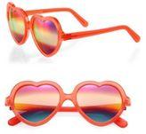 CUTLER AND GROSS 1204 Love Bite 55MM Heart-Shape Sunglasses