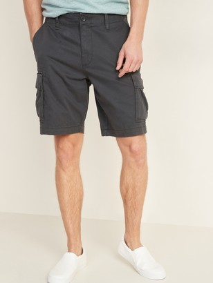 Old Navy Lived-In Straight Cargo Shorts for Men -- 10-inch inseam
