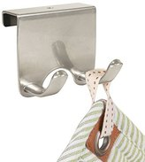 MetroDecor mDesign Over-the-Cabinet Kitchen Storage for Dish Towels, Pot Holders
