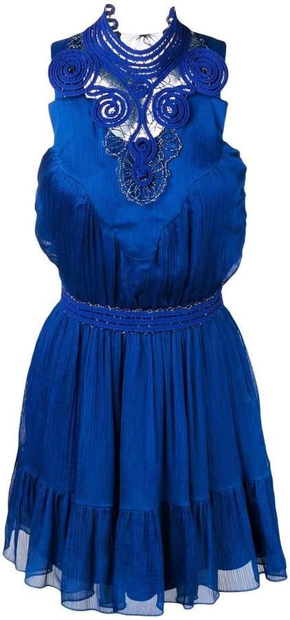 Genny short halterneck dress