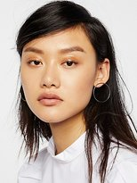 Free People Basic Babe Front Hoops