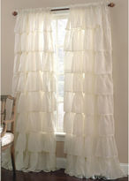 JCPenney Lorraine Gypsy Ruffled Rod-Pocket Sheer Panel