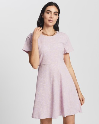 All About Eve Sparkle Fit & Flare Dress