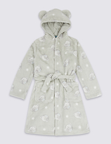 Tatty Teddy Long Sleeve Dressing Gown with Belt (2-16 Years)