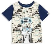 Andy & Evan Little Boys Squirrel Boom Box Tee