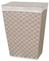 Bed Bath & Beyond Lamont HomeTM Carly Hamper in Linen