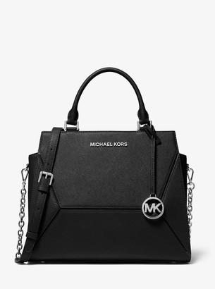 MICHAEL Michael Kors Prism Large Saffiano Leather Satchel