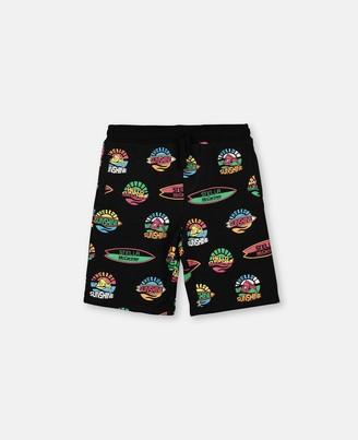Stella McCartney hello sunshine fleece shorts