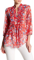 Casual Studio Pleated Floral Blouse