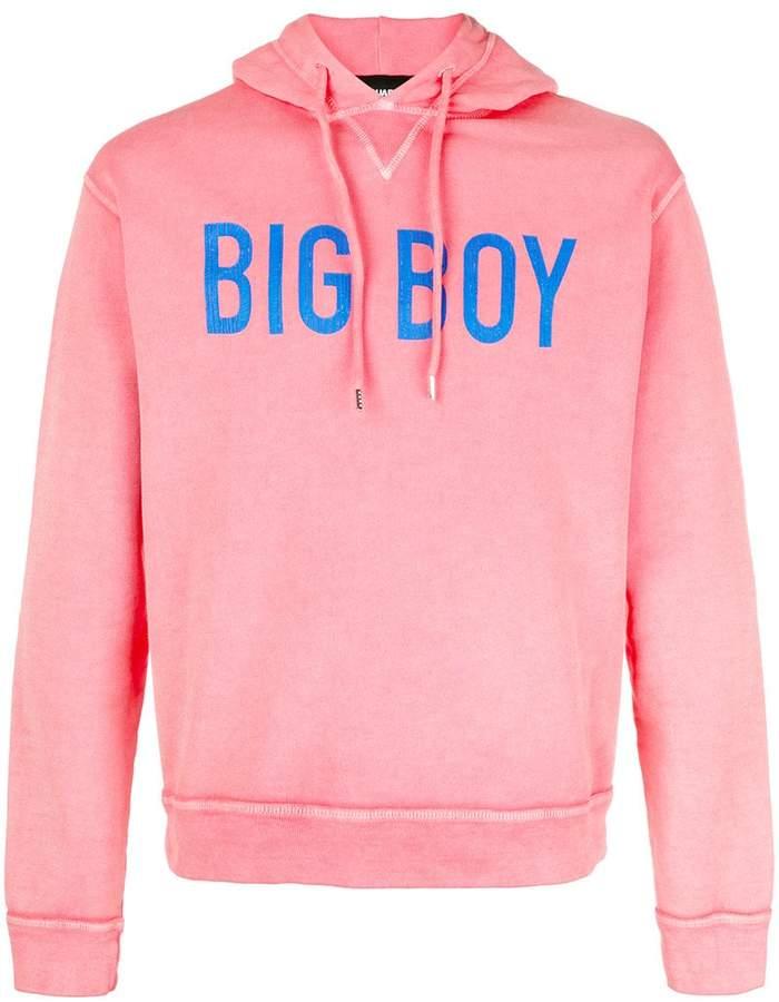 DSQUARED2 Big Boy print hoodie