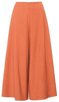 Roksanda Sienna wool-blend wide-leg pants
