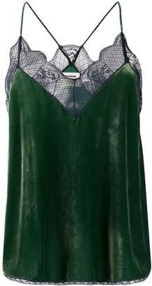 Zadig & Voltaire Zadig&Voltaire Christy velvet camisole
