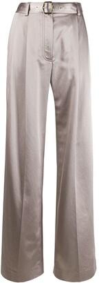 Sies Marjan Metallic Wide Leg Trousers