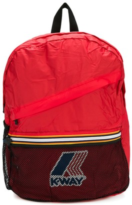 K Way Kids Logo Backpack