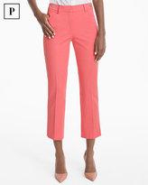 White House Black Market Petite Slim Crop Pants