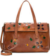 Patricia Nash Asti Applique Large Flap Satchel
