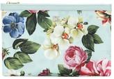 Dolce & Gabbana Floral nylon pouch