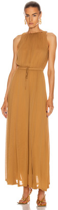 Max Mara Astrid Dress in Tobacco | FWRD
