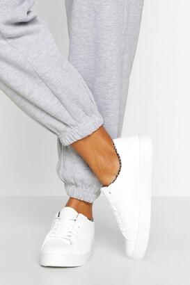 boohoo Leopard Insock Basic sneakers