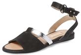 L'Agence Flat Ankle Strap Sandal