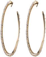 Alexis Bittar Oversized Crystal Lace Orbiting Hoop Earring