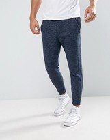 Hollister Cuffed Joggers Skinny Fit Icon Logo In Navy