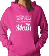 TeeStars - Most Incredible One Of A Kind Freakin Awesome MOM Women Hoodie