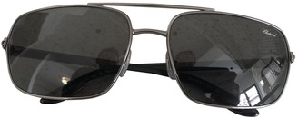 Chopard Metallic Metal Sunglasses