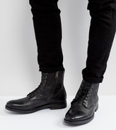 Diesel Kallien Leather Lace Up Boots