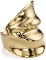 Annelise Michelson Gold Simple Draped Ring
