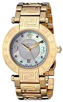 """Versace Women's 68Q70D498 S070 """"Reve"""" Gold-Plated Watch"""