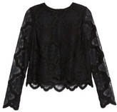 KENDALL + KYLIE Women's Lace Crop Top