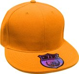 KNW-2364 PUR The Real Original Fitted Flat-Bill Hats by KBETHOS True-Fit, 9 Sizes & 20 Colors
