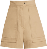 Isabel Marant Trey high-waisted cotton shorts
