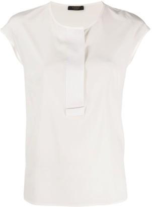 Peserico Cap Sleeve Shirt