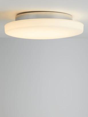 John Lewis & Partners Moonbeam LED Flush Bathroom Ceiling Light, White