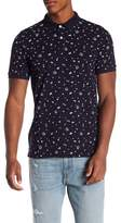 Knowledge Cotton Apparel Concept Patterned Polo