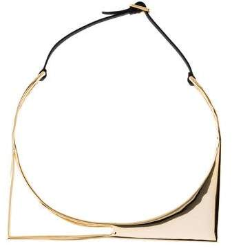 Alexis Bittar Architectural Choker Necklace