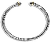 Thumbnail for your product : David Yurman Cable Classics Bracelet with 18K Gold, 4mm