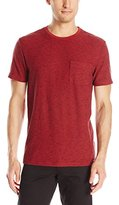 AG Adriano Goldschmied Men's Commute Striped Crew Neck T-Shirt