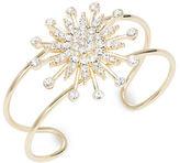 RJ Graziano Pave Star Accented Cuff Bracelet