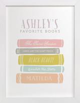 Minted Favorite Books Children's Custom Art Print