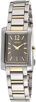 Seiko Women's SUJG15 Two-Tone Solid Stainless-Steel Case and Bracelet Charcoal Dial Watch