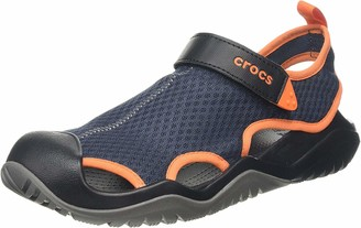 Crocs Swiftwater Mesh Deck Sandal Men Men Swiftwater Mesh Deck