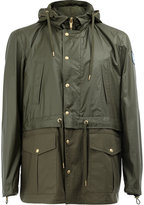 Moncler Gamme Bleu hooded field jacket - men - Cotton/Polyester/Cupro - 0