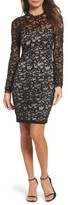 Sequin Hearts Women's Embellished Lace Body-Con Dress