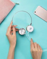 Skinnydip Rose Gold Marble Headphones