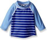 I Play I-Play Boys' Three-Quarter Sleeve Rashguard Shirt