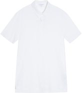 James Perse Pique Polo T-Shirt