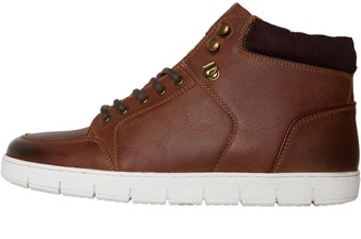 Onfire Mens White Soled Boots Brown